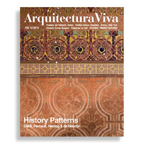 Arquitectura Viva #190. History Patterns