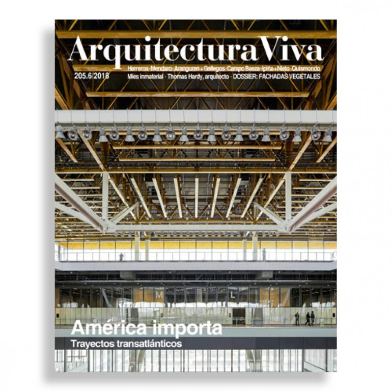 Arquitectura Viva #205. América Importa. Trayectos Transatlánticos