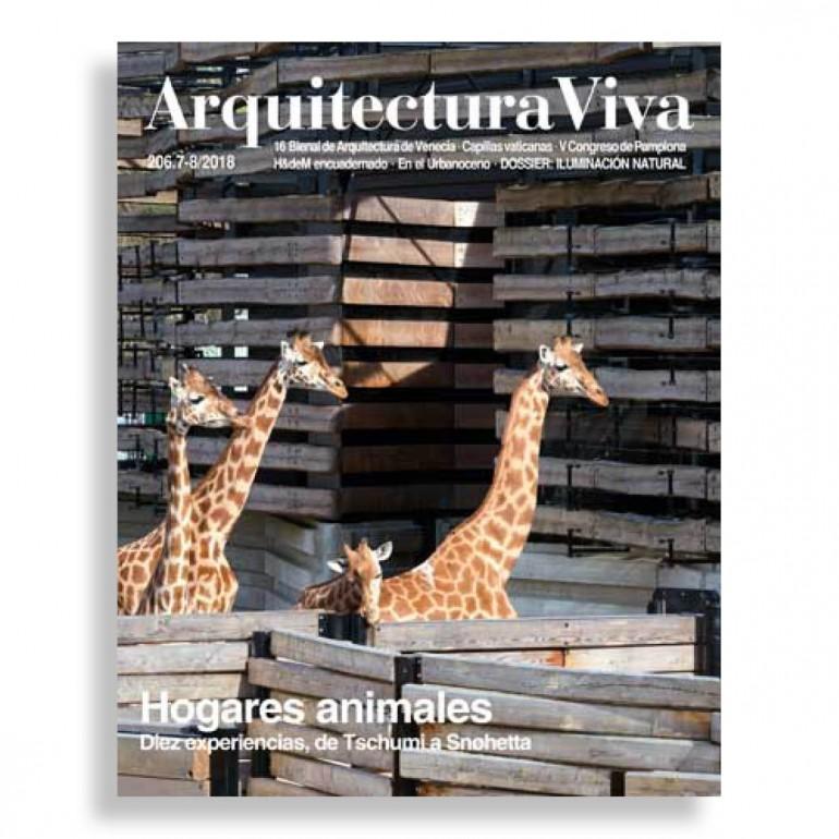 Arquitectura Viva #206. Hogares Animales. Diez Experiencias, de Tschumi a Snøhetta