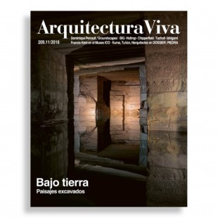 Arquitectura Viva #209. Bajo Tierra. Paisajes Excavados