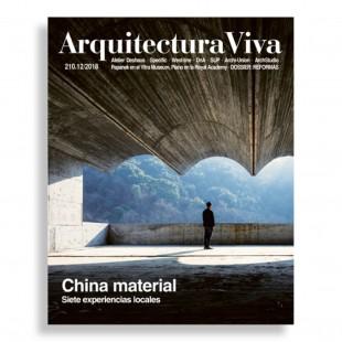 Arquitectura Viva #210. China Material. Siete Experiencias Locales