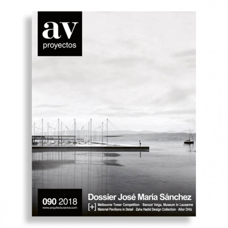 AV Proyectos #90. Dossier José María Sánchez