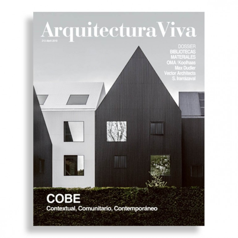 Arquitectura Viva #213. COBE. Contextual, Comunitario, Contemporaneo