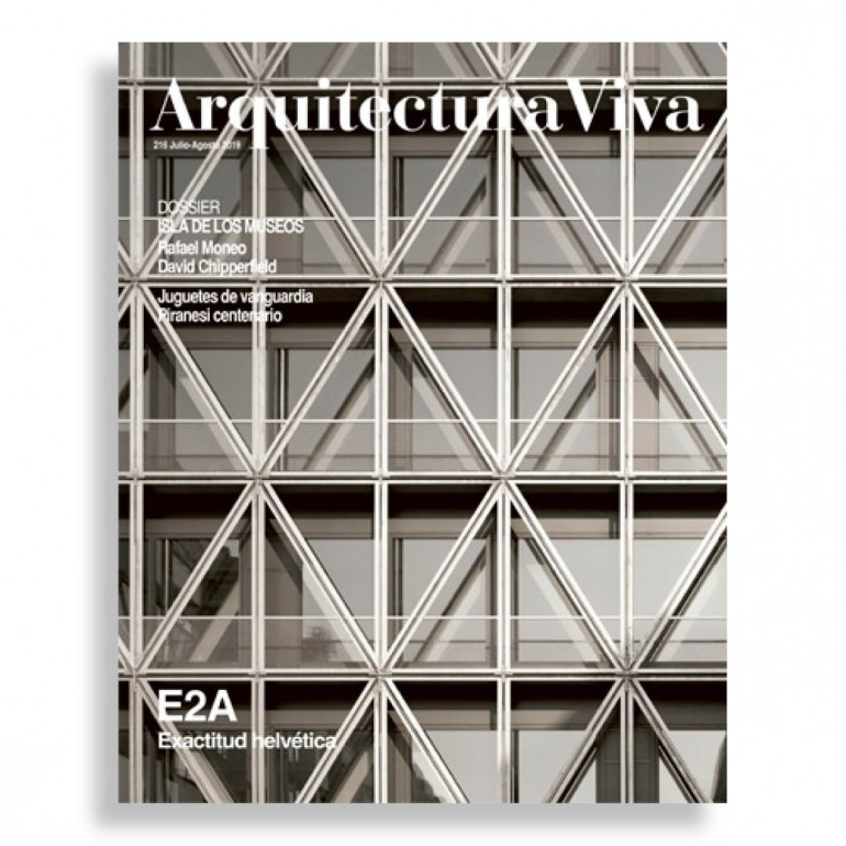 Arquitectura Viva #216. E2A. Exactitud Helvética