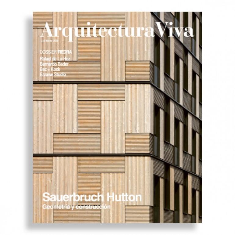 Arquitectura Viva #222. Sauerbruch Hutton. Geometría y Construcción
